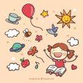 hand-drawn-kid-reading-a-book_23-2147531526